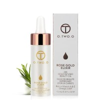 O TWO O 9116 Essential oil for lips and face Rose gold Elixir Original