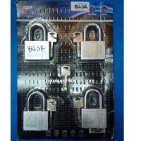 Gembok HG Lock Master Key 60mm Leher Pendek