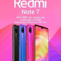 Xiaomi Redmi Note 7 4GB /128GB bukan Mi 8 9 MI9 MI A2 A3 Note 5 6 Pro