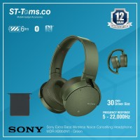Sony Extra Bass Wireless Noice Cancelling Headphone MDR-XB950N1 Hitam