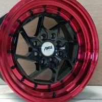 velg amw spiner l1 r15x7-8,5 h8x100-114,3 red lips