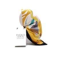 Jilbab Segiempat Motif PeintureToscaning / Emikoawa / Maxmara