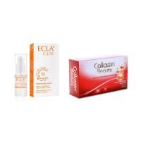 Bright & Collagen Booster Bundling (ECLA C-Lite Serum + Collastin 30)