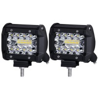 PREMIUM 2PCS 4 inch LED Bar LED Work Light Bar for Driving Offroad