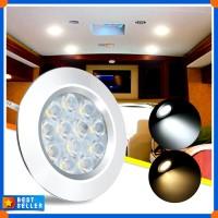 DC12V 3W 12 LED Spot Cabinet Light Interior Lamp For Transporter Van