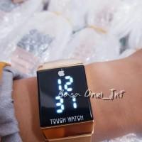Best Jam Tangan Digital Pria Wanita Apple Iphone Touch Watch Led