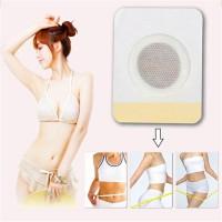 Trendy 10Pcs Magnetic Abdominal Body Wonder Slimming Patch Navel
