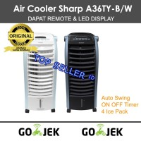 Sharp Air Cooler PJA36-TY Kipas Angin Dingin AC Pendingin Portable