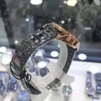 Jam Tangan wanita Christ Verra - Black - Gold