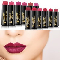 Hrgapromo KISS BEAUTY Lipstick Cair Warna Velvet Matte Anti Air Taha