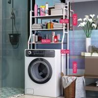 Rak mesin cuci Organizer size 68X163CM