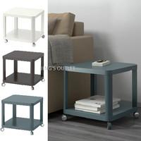 IKEA TINGBY - Meja samping beroda - 1 Pc