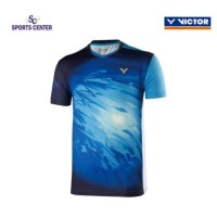 NEW !! Kaos / Jersey Victor Timnas Malaysia T90002 / T-90002 Blue