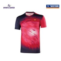 NEW !! Kaos / Jersey Victor Timnas Malaysia T90002 / T-90002 Rose Red