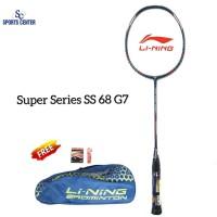 NEW !! Raket Badminton Lining Super Series SS 68 G7 / SS68 Gen7