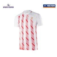 NEW !! Kaos / Jersey Victor Timnas Denmark T90004 / T-90004 White