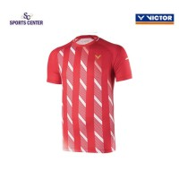 NEW !! Kaos / Jersey Victor Timnas Denmark T90004 / T-90004 Red