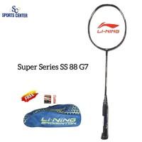 NEW !! Raket Badminton Lining Super Series SS 88 G7 / SS88 Gen7 Black