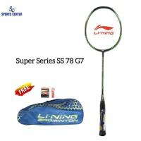 NEW !! Raket Badminton Lining Super Series SS 78 G7 / SS78 Gen7
