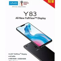 HP VIVO Y83 RAM 4GB INTERNAL 32GB (Y 83 4/32 GRS RESMI) BLACK & RED