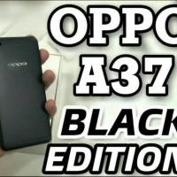 Hp Oppo A37 Ram 2/16Gb Internal - A37f Black Limited Edition - Hitam