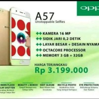 Promo Oppo A57 - 4G LTE - Black / Gold