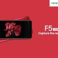 LIMITED EDITION OPPO F5 RED (F 5 PRO PLUS MERAH RAM 6/64GB INTERNAL)