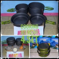 Cooking Set / Nesting DS 301 / Ultralight / 2-3 person