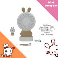 Kipas Angin Genggam Mini Hand Fan USB / Kipas Angin Karakter