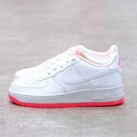 Nike Air Force 1 Low White Racer Pink 100% Authentic