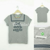"""Sail Away With Me"" T-Shirt Grey"