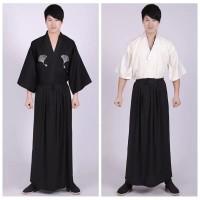 3 Piece Set Japanese Men Kimonos Men yukata