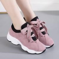 Sneaker Wanita ANDIRA Sepatu Kets Kekinian Variasi Tali
