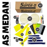 Alat Stiker SUPER-D Wrapping Tool Kit 2 Professional Japan Movement