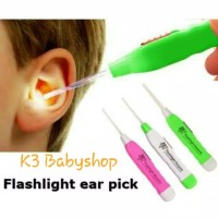 Korek Telinga Bayi Senter Earpick LED Flashlight korek kuping anak