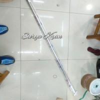 Tiang Shower Curtain / Tiang Tirai Kamar Mandi (Lurus)
