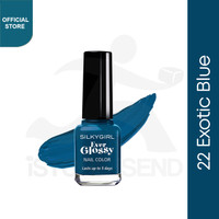 SILKYGIRL Ever Glossy Classic 22 Exotic Blue