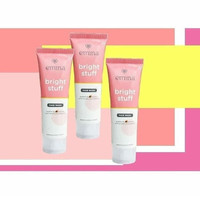 Emina Bright Stuff Face Wash 50ml ANTI POLUTAN Hilangkan kusam