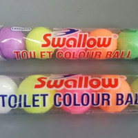 SWALLOW TOILET COLOUR BALL KAMPER WARNA ISI 5