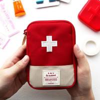 [Mini] Tas Kotak Obat P3k Tas Tempat Obat Travel Medicine Pouch K177