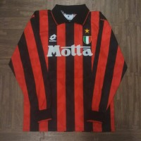 4584f529e6a Jersey AC Milan 1993 1994 home size M LS no 8 original