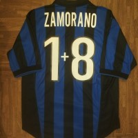2be87c9e5f0 Jersey Inter Milan 1998 1999 home size M ZAMORANO original