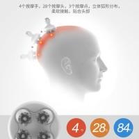 Smart 4D Head Massager Electric Head Scalp Pijat Kepala Portable