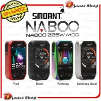 Authentic MOD SMOANT NABOO 225W With LCD 2.4 inch Full Colour