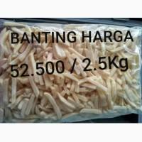 KENTANG GORENG AVIKO TERMURAH 48rb/2.5kg STRAIGHT CUT
