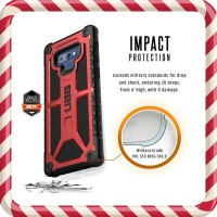 Case Samsung Galaxy Note 9 Case UAG Monarch Crimson Original