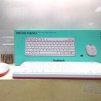 Logitech Wireless Keyboard & Mouse MK240