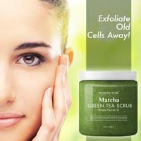 Body Scrub Majestic Pure Matcha Green Tea Scrub 283gr