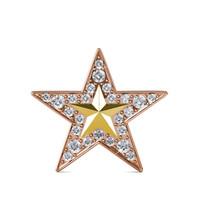 Starfish Brooch - Bross Crystal Swarovski by Her Jewellery
