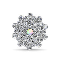 Sofia Brooch - Bross Crystal Swarovski by Her Jewellery